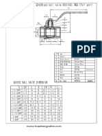 Ball Valve Data Sheet Q240