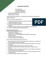 Diseno de una planta procesadora de surimi - calculo preliminares