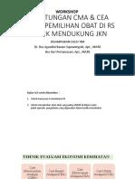 Perhitungan Cma & Cea Dalam Pemilihan Obat