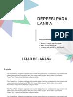 DEPRESI LANSIA