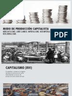Modo de Producción Capitalista, y movimientos que hicieron parte de el