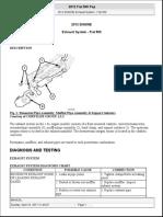 ENGINE Exhaust System FIAT 500