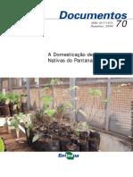 Livro - A Domesticação de Plantas (EMBRAPA)