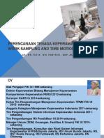 Perencanaan Worksampling Dan Time Motion Study