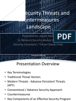Information Security and Cyber Threats