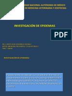 Investigacion Epidemiológica