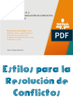 Presentación Resolución de Conflictos