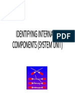 Identifying Internal Pc Components (System Unit