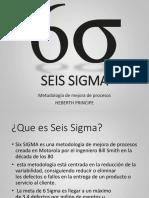 Six Sigma Expocicion