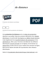 Protection de Distance