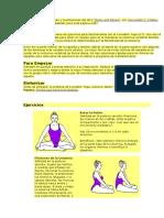 Ejercicios Kundalini Yoga