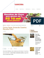 → Receita de Amarula Caseira → (A MELHOR RECEITA)