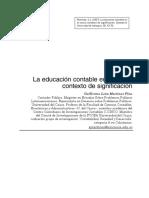 La Educación Contable en El Nuevo Contexto de Significación Universidad de Antioquia