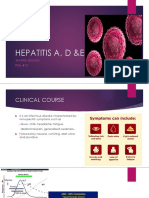 HEPATITIS A, D & E.pptx