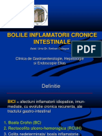 Bolile Inflamatorii Cronice Intestinale