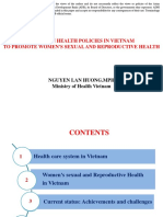 Trends in Health Policies in Viet Nam to Promote Women's Sexual and Reproductive Health