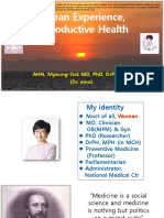 Korean Experience, Reproductive Health
