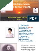 Korean Experience, Reproductive Health