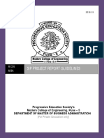 SIP Project Guidelines 2018-19