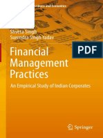 [India Studies in Business and Economics] P.K. Jain, Shveta Singh, Surendra Singh Yadav (auth.) - Financial Management Practices_ An Empirical Study of Indian Corporates (2013, Springer India).pdf