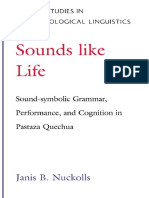 [Oxford Studies in Anthropological Linguistics, 2] Janis B. Nuckolls - Sounds Like Life_ Sound-Symbolic Grammar, Performance, and Cognition in Pastaza Quechua (Oxford Studies in Anthropological Linguistics, 2) (199.pdf