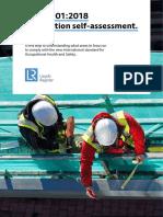 ISO 45001 Self Assessment