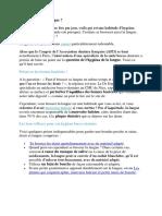 text franceză stomatologie