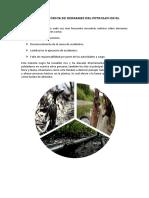 Situación Histórica de Derrames Del Petroleo