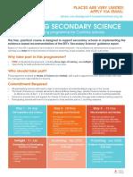 Cumbria Science (Blackpool Research School 2019-20)