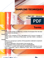 SamplingTechnique_Report2018