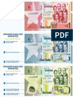 All the Features of Upgraded Ghana Cedi Currency