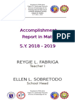 Accomplishment Report in Math 2018 - 2019.docx