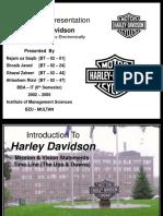 Case Study Presentation Harley Davidson Online