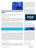 COGENBLOG Omics Research Are You Doing It Right