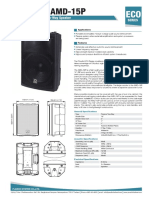 P.Audio AMD-15P
