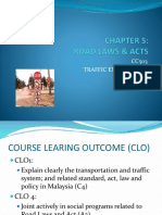 06 Chapter 5 - Road Laws & Acts