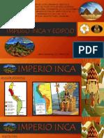 IMPERIO INCA Y EGIPCIO