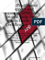 Gerard Blokdijk, Ivanka Menken, Claire Engle - ITIL Practitioner Support and Restore (IPSR) All-in-one Help Desk Exam Guide and Certification Work book_ Define, Implement, Manage and Review Service ...pdf