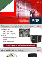 Fujitsu Liquid Immersion Cooling System Slide