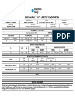 Pm0504 Mud Fault Data Form