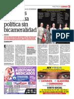 Proyectos de Reforma Política Sin Bicameralidad