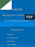 6. Leprosy Management