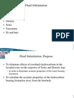 Fluid Substitution