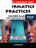 Informatics Practices for CBSE Class XI (New Curriculum 2019-20) 100% Course in Just 100 Pages -Scribd.com