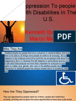 people w  disabilities in the u