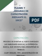 Planes y Programas de capacitación