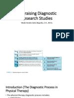 EBP Appraising Diagnostic