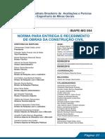 Norma Cautelar Ibape Mg 004