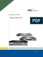 A10 DG MicrosoftIIS7