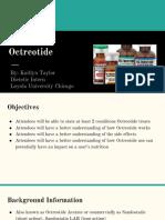 octreotide inservice ktaylor